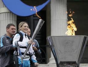 Огънят на параолимпийските игри днес