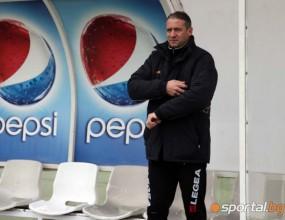 Кушев няма да води днешната тренировка на Славия
