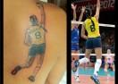 Волейболистка стана муза за татуировка