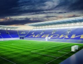 "Левски прекръства стадиона на ""Газпром Арена"""