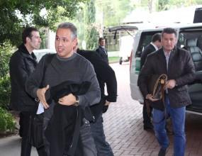 Домусчиев пристигна в Турция с брандиран бус (снимки+видео)