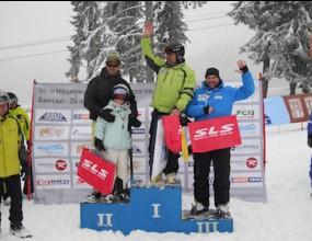Весела Владкова и Юлиян Стоянов са №1 в 50-ото Национално първенство по ски за журналисти в Банско