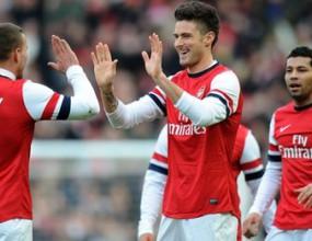 Арсенал пречупи бойкия тим на Брайтън в голово зрелище, Жиру блести за гостите (видео)