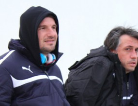 """""""Сините"""" шефове и треньори на мач в Кипър"""