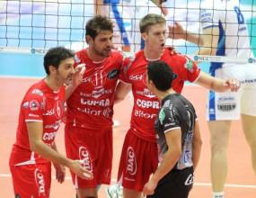 Златанов с 12 точки, Пиаченца с 11-та победа в Серия А1 (ВИДЕО)