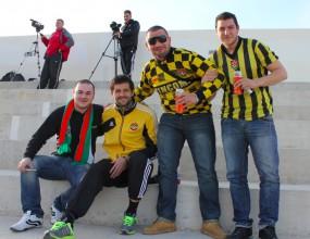 Верни фенове подкрепят Ботев (Пд) в Кипър