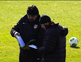 Атлетико се готви за 1/2-финала без Фалкао