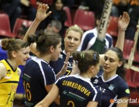 Марица с разгромна победа с 3:0 над Левски Волей