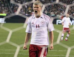 Тийнейджър донесе равенство за Дания срещу Мексико