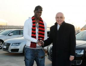 Официално: Балотели подписа с Милан за 4,5 години
