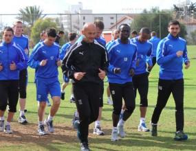 """""""Сините"""" с последна тренировка в Кипър (видео)"""