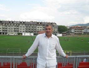 Кьосов пред напускане на Банско