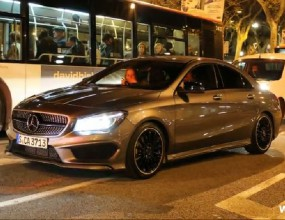Mercedes CLA 180 AMG вече е на улицата (Видео)