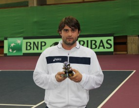 Тодор Енев получи наградата на ITF