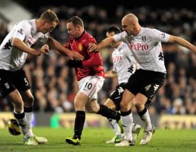 Манчестър Юнайтед пречупи Фулъм и дръпна с десет точки пред Сити (видео)