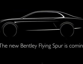 Bentley Continental Fying Spur (Видео)