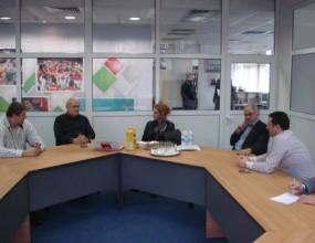 Стефка Костадинова се срещна с ръководителите не БФ Волейбол
