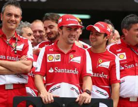 Вилньов: 2013 може да е на Ферари