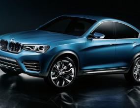 BMW X4 за първи път (официални снимки)