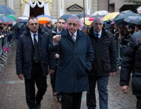 Милан, Галиани и Роби Баджо изпратиха приятел в последния му път