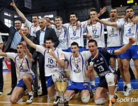 Всички волейболни шампиони на България при мъжете в историята