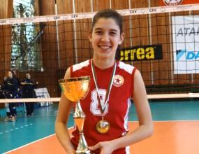 Ралина Дошкова: Спечелихме титлата след трудна и сладка победа над Марица
