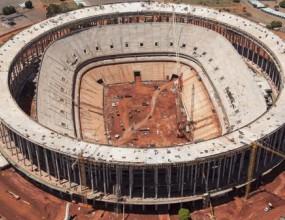 Стадионът в столицата Бразилия все още не е завършен