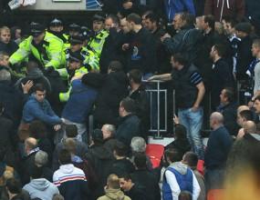 Лондонските власти повдигнаха обвинения срещу футболни хулигани