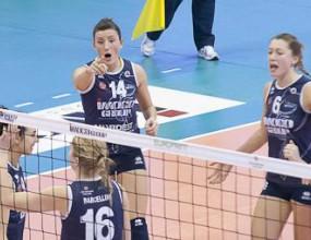 Силна Еми Николова с 15 точки, Конеляно тръгна със загуба в плейофите на Серия А1