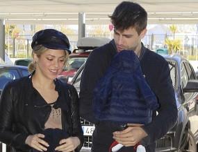 Пике изпрати Шакира и Милан на летището