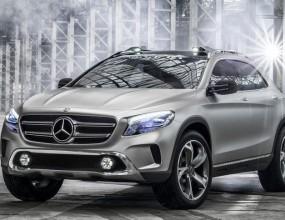 Mercedes дадоха GLA Concept по-рано