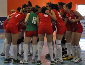 Шест отбора на Балканиадата за девойки старша възраст