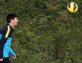 Меси вече тренира с отбора
