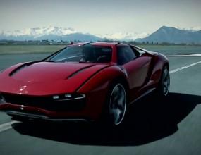Giugiaro с Lamborghini сърце на писта (Видео)