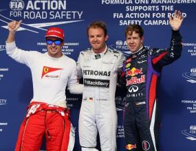 Розберг изненада фаворитите и спечели квалификацията в Бахрейн