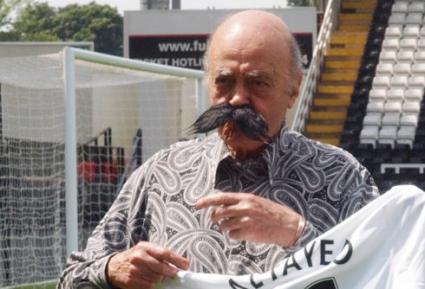 Ал Файед си сложи култов мустак в чест на новия собственик на Фулъм (снимки)