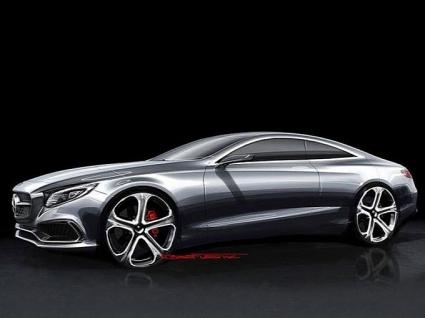 Скици на бъдещия Mercedes S-Class Coupe