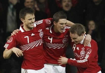 С много късмет Дания завърза още повече битката в нашата група (видео)