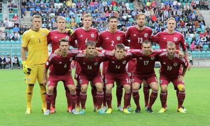 Латвия спечели балтийското дерби