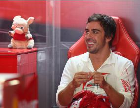Алонсо не е сърдит на Ферари