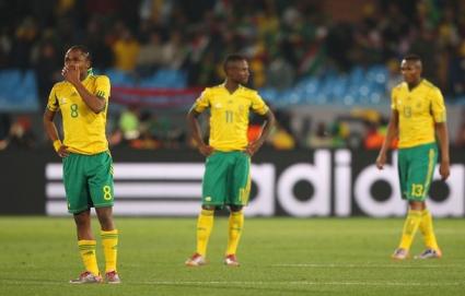 Южна Африка няма да играе на световното първенство по футбол в Бразилия