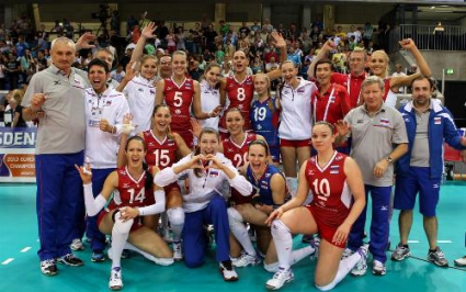 Русия на крачка от директен 1/4-финал след 3:1 над Хърватия