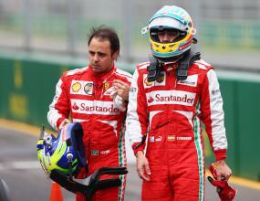 Алонсо: Ще се радвам Ферари да задържат Маса
