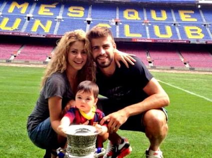 Шакира и Пике правили кръщене на Милан?