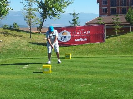 Александър Евтимов и Иво Цеков спечелиха в третия голф турнир Lavazza Golf Cup