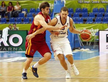 Латвия изхвърли Македония от Евробаскет 2013