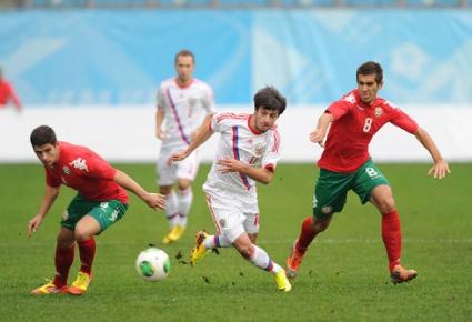 10 български лъва загубиха в Москва - рефер подари дузпа на Русия още в 19-та минута (галерия)