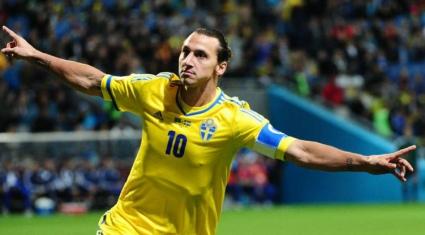 Ибра дърпа Швеция към второто място (видео)