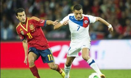 Късен гол спаси Испания срещу Чили