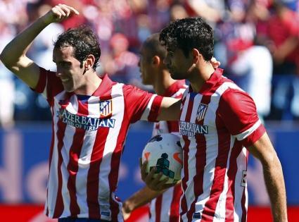 Осем от осем за Атлетико, Диего Коща задмина Меси (видео)